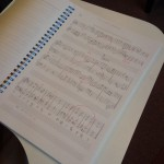 楽譜を見たら、書いてみよう!