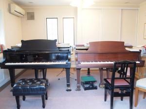 レッスン室 スタンウェイピアノ