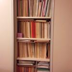ピアノの本の整理