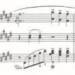ピアノ3段楽譜