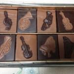 芦屋市のチョコレートのお店「モン ロワール」のお年賀を頂きました。