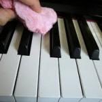 冬のピアノの衛生管理