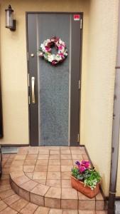 ピアノレッスン室入口