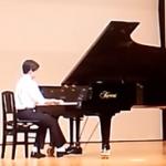 P君のピアノ演奏動画 バッハ・シンフォニア ショパンのワルツ