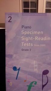 ABRSMピアノ検定・初見視奏