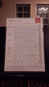 ABRSM・英国王立ピアノ検定 講評