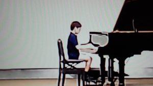 芦屋市のピアノ教室「カノンピアノ」R君