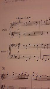 ピアノデュオ楽譜