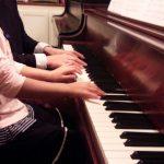 ピアノの発表会の準備