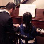 ピアノのご家族連弾