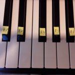 ピアノのシャープ
