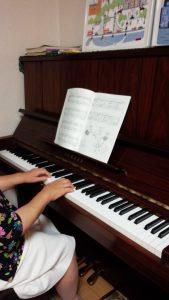 最高齢のピアノの生徒さん