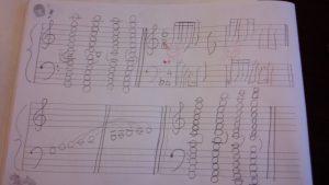 小学2年生のノート
