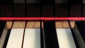 ピアノ鍵盤の数字