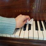 ピアノとインフルエンザ対策