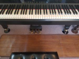 スタンウェイピアノ レッスン室