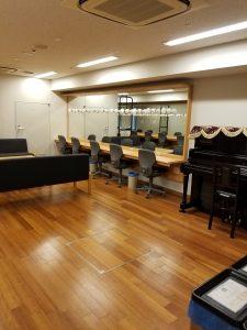 兵庫県立芸術文化センター 楽屋