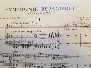 ラロ スペイン交響曲 ピア