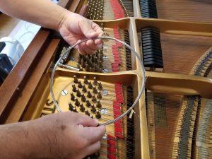 ピアノ スタンウェイ 弦張り替え