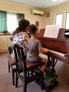 親子 ピアノデュオ