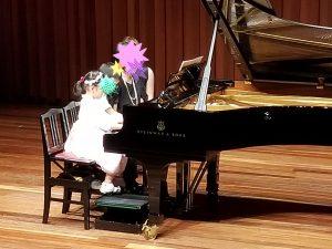 カノンピアノ 発表会 トリオ Yさんご家族