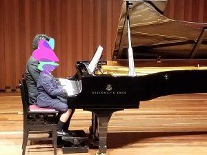 カノンピアノ 発表会 連弾 Kさん父古