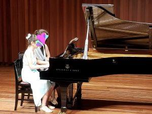 カノンピアノ 発表会 連弾 Oさん母娘