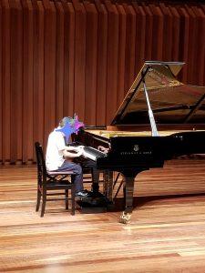 カノンピアノ 発表会 ソロ Y君