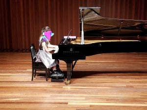 カノンピアノ 発表会 連弾 Sさん母娘