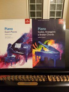 「英国王立音楽検定」ピアノ グレード1