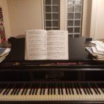 夜脳 スタンウェイピアノ