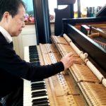 スタンウェイピアノの調律