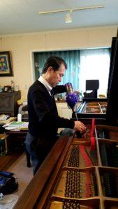 スタンウェイピアノ ハンブルグ ニューヨーク 調律